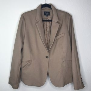 Dalia light brown women's blazer size XL